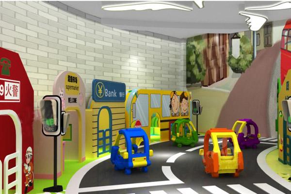室内儿童乐园有哪些游乐设备?
