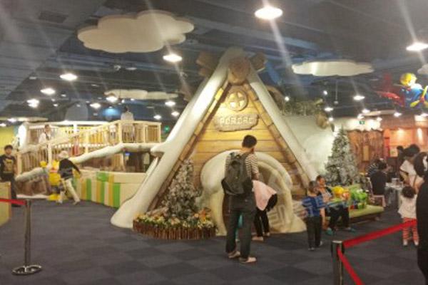 儿童乐园设备跟随着时代共同发展