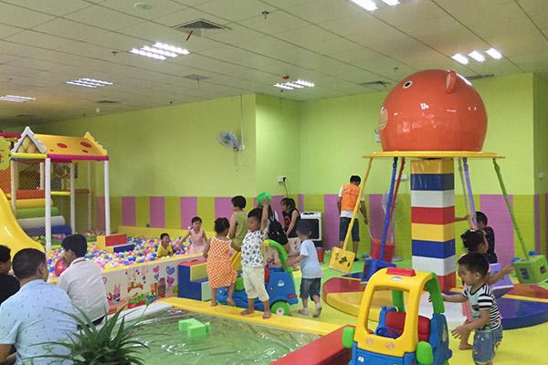 儿童乐园设备选购时要注意的问题