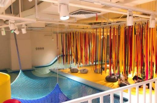 室内儿童乐园加盟店设计时需要哪些空间?客户愿意为哪些儿童乐园区域付费?